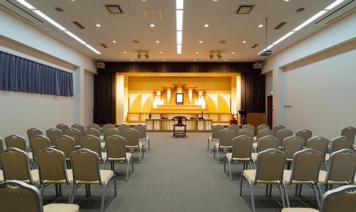 1日1組限定のの家族葬専用式場