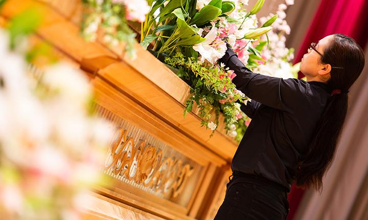 想い込めたお葬式を手作りいたします